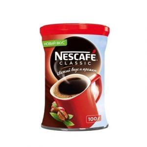 Լուծվող սուրճ Nescafe Ckassic,100 գր 60505