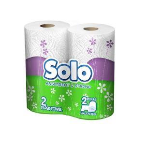 Խոհանոցային երկշերտ սրբիչ Solo, 2հատ 21009