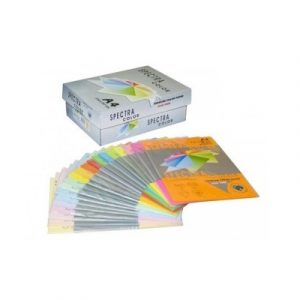 Թուղթ գունավոր Spectra A4 80գր դեղին CIBER HP YELLOW100թ10328