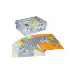 Թուղթ գունավոր Spectra A4 80գր դեղին CREAM 100թ 10312
