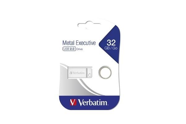 Ֆլեշ հիշողության սարք Verbatim metal 2.00USB, 32GB 30710