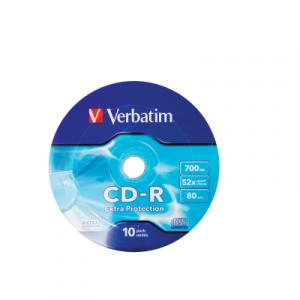 Սկավառակ Verbatim CD-R 700MB, 10հատ 30502