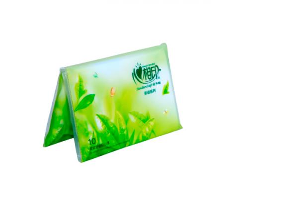 Անձեռոցիկ գրպանի Toer կանաչ թեյ, 10հատ 20312