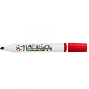 Մարկեր Faber Castell գրատախտատակի կարմիր 13715