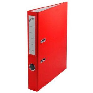 Թղթապանակ երկօղականի (ռեգիստր), A4, 4սմ, կարմիր 13228