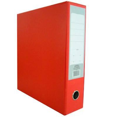 Թղթապանակ երկօղականի (ռեգիստր), A4, 8սմ, կարմիր 13229