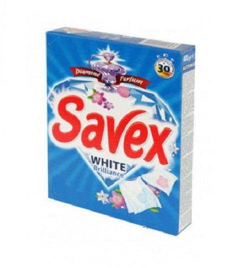 Լվացքի փոշի Savex, սպիտակ, ձեռքի, 400գր. 22211