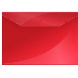Թղթապանակ կոճգամով OfficeSpace A4, կարմիր,13238
