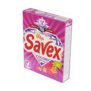 Լվացքի փոշի Savex, գունավոր, ձեռքի, 400գր. 22210