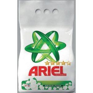 Լվացքի փոշի Ariel, սպիտակ, ավտոմատ, 3կգ 22232