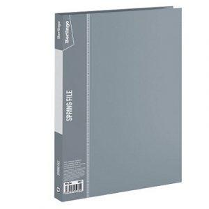 Թղթապանակ Berlingo A4, 17մմ, սեղմակով, մոխրագույն 13250