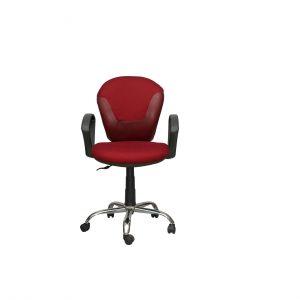 Համակարգչի հոլովակավոր աթոռ 9918, բորդո 50107