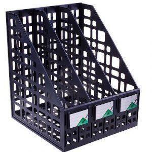 Թղթադիր-դարակ CTAM 3 բաժին, A4 պլաստիկ, 10814
