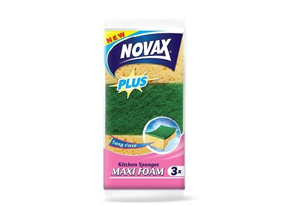 Սպասքի լվացման սպունգ NOVAX, 3հատ 21807