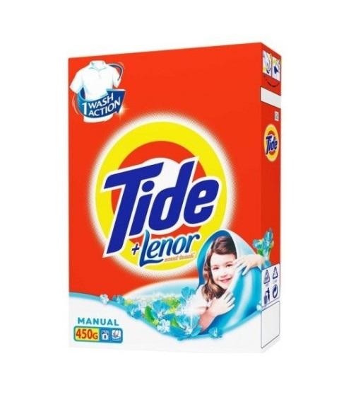 Լվացքի փոշի Tide, սպիտակ, ձեռքի, 450գր 22221