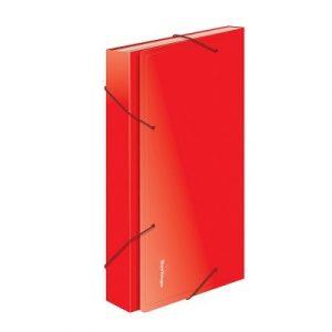 Թղթապանակ ռեզինով A4,13 բաժանում, կարմիր 13244