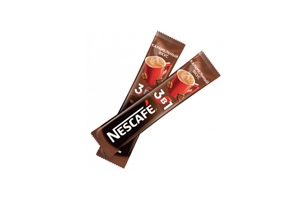 Լուծվող սուրճ Nescafe Caramel, 3in1 60502
