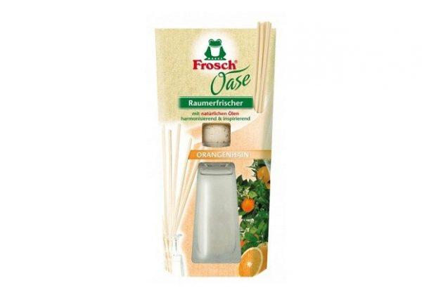 Թարմացուցիչ սենյակային, փայտիկներով, Frosch Oase Orange 90մլ 21903