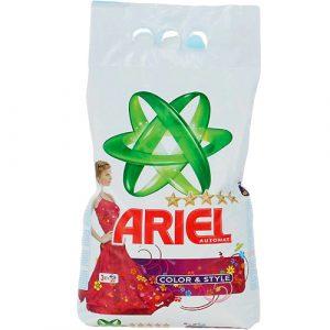 Լվացքի փոշի Ariel, գունավոր, ավտոմատ 3կգ 22214