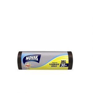 Աղբի պոլիէթիլենային տոպրակ Novax 35լ 30հատ 20217