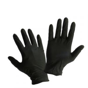 Միանգամյա ձեռնոցներ Nitryl սև S, 100հատ 21519