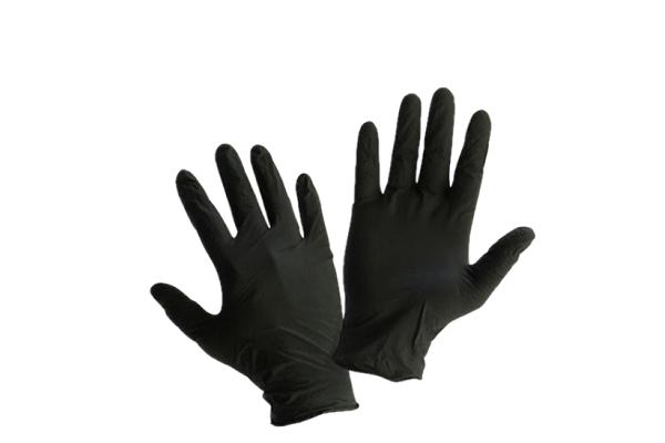 Միանգամյա ձեռնոցներ Nitryl սև L, 100հատ 21520