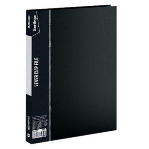 Թղթապանակ Berlingo A4, 17մմ, սեղմակով,սև 13248