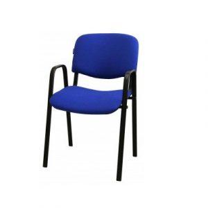 Անշարժ աթոռ IZO Arm կապույտ, բարձր թևով 50132