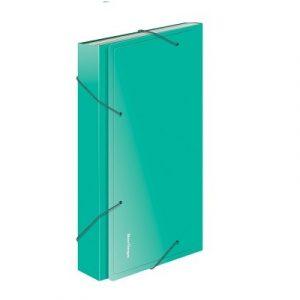Թղթապանակ ռեզինով A4,13 բաժանում, կանաչ13246