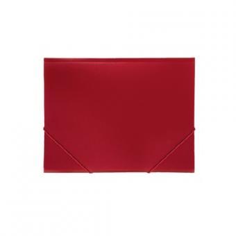 Թղթապանակ ռետինով A4, կարմիր 13211