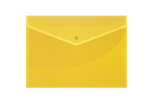 Թղթապանակ կոճգամով OfficeSpace A4, դեղին,13242