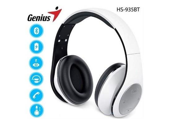Ականջակալ Genius HS 935BT, սպիտակ 30103