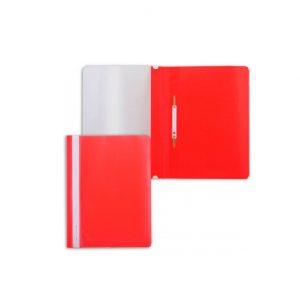 Արագակար պլաստիկ, A4, կարմիր 10207