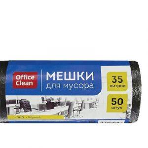 Աղբի պոլիէթիլենային տոպրակ OfficeClean 35լ 50հատ 20219