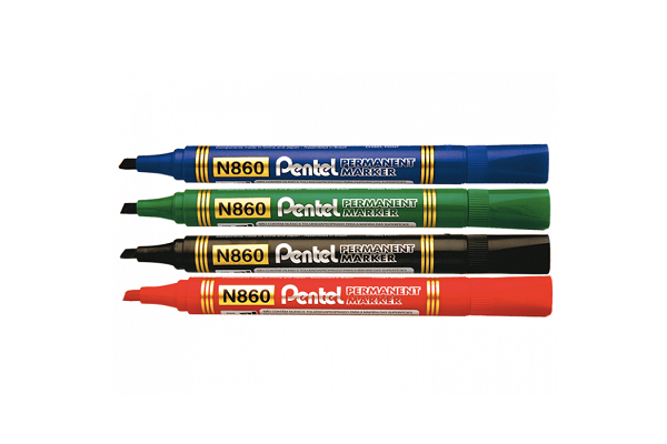 Մարկեր Permanent Pentel N860 կանաչ 13760
