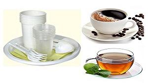 Սպասք, թեյ, սուրճ, ջուր