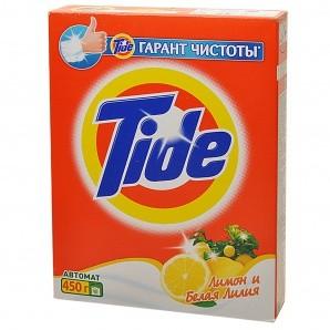 Լվացքի փոշի Tide, սպիտակ, ավտոմատ, 450գր 22225