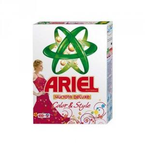 Լվացքի փոշի Ariel, գունավոր, ավտոմատ, 450գր 22223