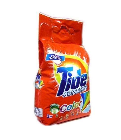 Լվացքի փոշի Tide, գունավոր, ավտոմատ, 3կգ 22222