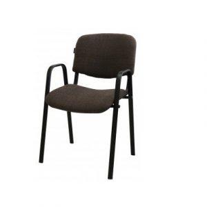Անշարժ աթոռ IZO Arm շականակագույն, բարձր թևով 50133