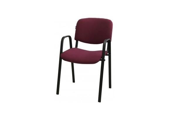 Անշարժ աթոռ IZO Arm բորդո, բարձր թևով 50131