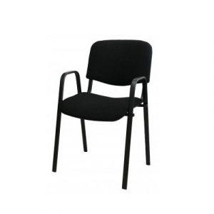 Անշարժ աթոռ IZO Arm սև, բարձր թևով 50130