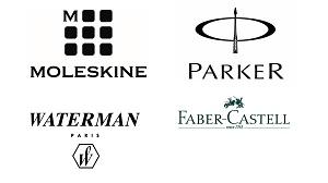 Faber-Castell, Parker, Moleskine, Waterman